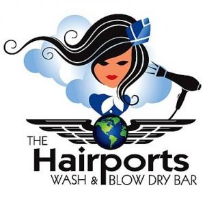 The Hairport Logo