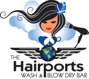 Hairports Wash & Blow Dry Bar logo